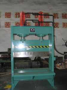 Hydraulic Bale Cutting Machine/Single Knife Hydraulic Rubber Cutting Machine /Rubber Bale Cutter pictures & photos