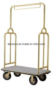 Hotel Brass Baggage Trolley (DF44) pictures & photos