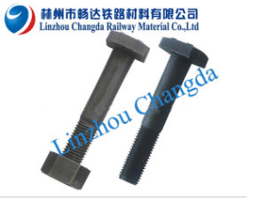 Railway High Tensile Square Head Bolt for Fixing Fish Plate Onto Rail