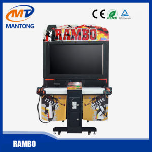 Rambo/Arcade Coin Operated Shooting Game Machine/Indoor Amusment Game Machine pictures & photos