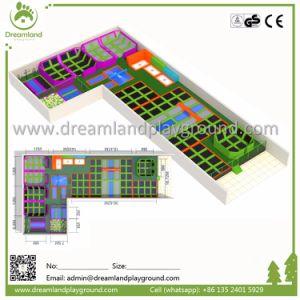 Wholesale Dreamland Big Commercial Indoor Trampoline pictures & photos