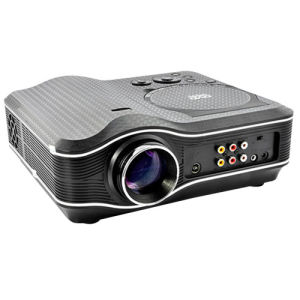 Portable LED Multimedia Built-in DVD Projector Home Theater