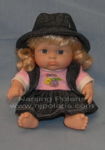 "8"" Full Vinyl Fat Baby Doll (C593)"