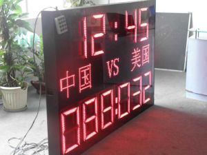 Red Color Outdoor Waterproof LED Scoreboard pictures & photos