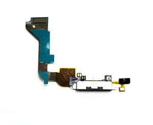 Cell/Cellular Phone Accessories for iPhone 4G Connector Flex Cable pictures & photos