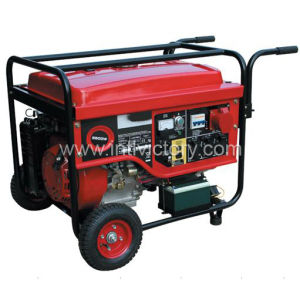 Small Electric Portable Gasoline Engine Generator for Home Standby (2kVA~7kVA) pictures & photos