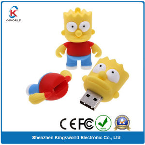 PVC Cartoon USB Flash Drive (KW-0137)