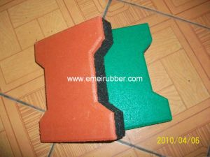 Rubber Playground Tile pictures & photos