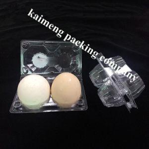 China 2PCS Chiken Eggs PVC Plastic Egg Trays for Sale