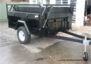Outdoor Sports Hard Floor Camper Trailer for Camping pictures & photos