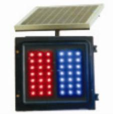 Solar Energy Red&Blue Flash Light (CTJ-4A)
