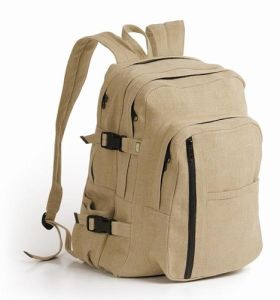Canvas Day Hiking Sport Travelling Backpack Bag (MS1035) pictures & photos
