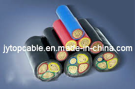 Copper Conductor PVC Insulation Steel Tape Armored and PVC Sheath Electrical Cable pictures & photos