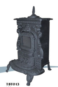Cast Iron Free Standing Stove (TST013)