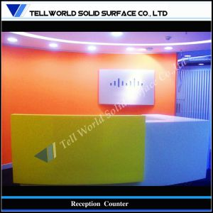 Modern Commercial Office Work Reception Desk (TW-PART-010) pictures & photos