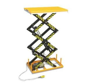 Three Scissor Lift Table (HT Series) pictures & photos