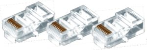 RJ45 Connector for Cat5e or CAT6 Patch Cord pictures & photos