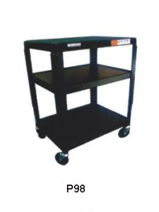 Projector Cart With Wheels, Projector Trolley for Projector and TV (PB98)
