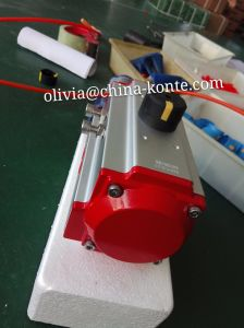 Bt Series Pneumatic Actuator of Different Seal Material High & Low Temperature pictures & photos