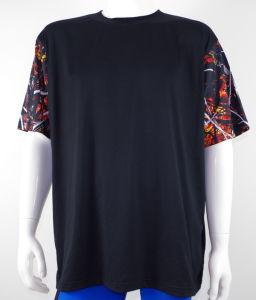 Men′s Custom 3D Camo Print Short Sleeve Crew Neck Tee Shirt
