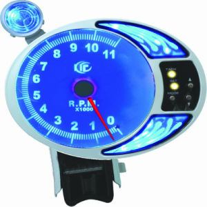 5inch Blue Light Rpm Gauge, 5inch Tachometer Auto Gauge (LED7215)