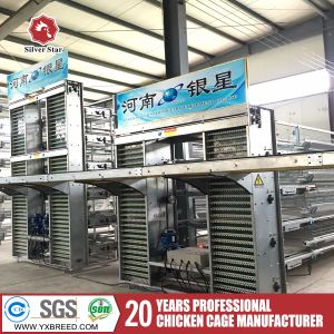 Battery Poultry Layer Cage with Automatic Feeding Machine pictures & photos