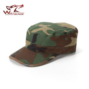Army Camouflage Cap Military Soldier Combat Hat Sport Cap pictures & photos
