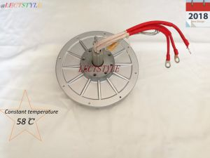 2018 New Designs Coreless Permanent Magnet Generator 70V1800rpm2000W pictures & photos