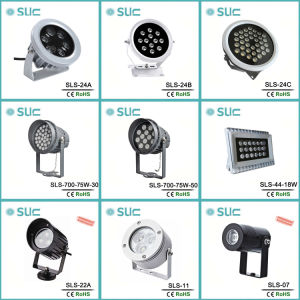New 24W Waterproof LED Outdoor Low Voltage LED Spotlight pictures & photos