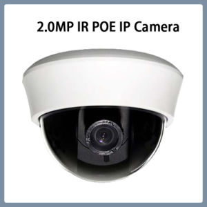 2.0MP IP Varifocal Lens Poe Network CCTV Security Plastic Dome Camera pictures & photos