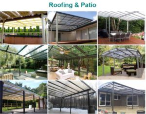Clear Polycarbonate Roofing Sheets for Highway and Railway Noise Barrier pictures & photos