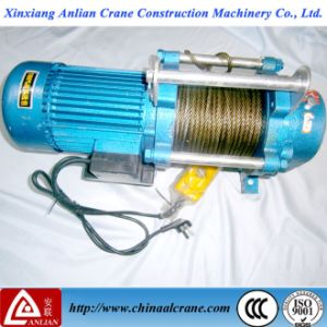 Electric Small Winch 380V Wire Rope Cable Hoist 2t