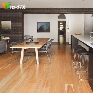 Best Selling Commercial Flooring Wood Pattern Dark Color PVC Tile pictures & photos