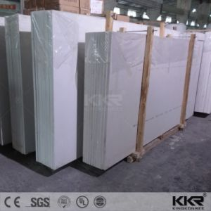 Kitchen Counter Top Pure White 20mm Artificial Quartz Slab pictures & photos