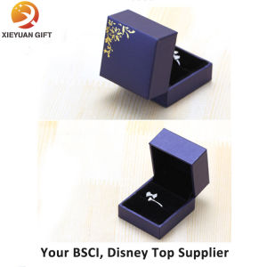 Custom Luxury Printing Logo Wedding Ring Box pictures & photos