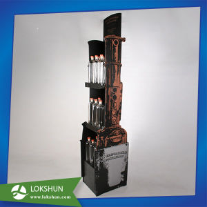 Custom Wood Material Soft Drinks Display Rack for Supermarket pictures & photos