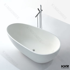 2 Person Indoor Freestanding Oval Hot Bath Tub for Sale pictures & photos