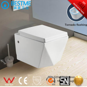 Sanitary Ware Wc China Ceramic Wall Hung Toile Bc-1112D pictures & photos