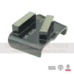 Concrete Floor HTC Diamond Tools Grinding Shoes for HTC Grinder pictures & photos