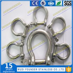 Stainless Steel SS304 or SS316 Pin Shackle pictures & photos
