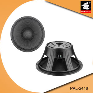 18 Inch Professional Woofer PAL-2418 pictures & photos