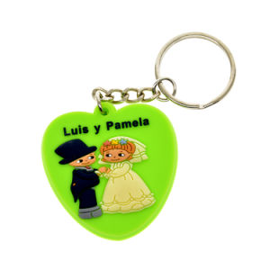 High Quality PVC Keyring for Christmas Gift (YB-k-043) pictures & photos