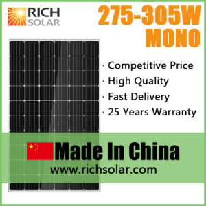 305wp Power System Mono PV Solar Panel with 60 Cells