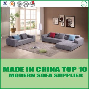 Italian Living Room Furniture Linen Fabric Sectional Sofa pictures & photos