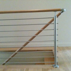 Stainless Steel 304 Solid Rod Railing Design for Balcony Staircase pictures & photos