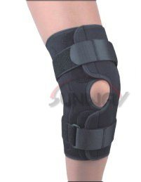 Hot Sale Neoprene Knee Pad Knee Support with Hole (NS0022) pictures & photos