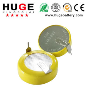 3.6V Lithium Rechargeable Button Cell Battery Lir2477 pictures & photos