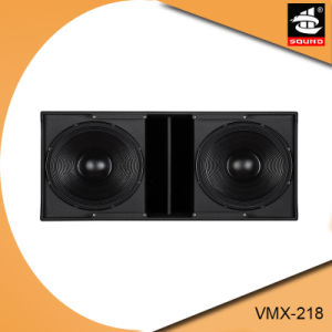 Prx-218 Dual 18 Inch Subwoofer Speaker Box pictures & photos