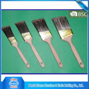 Distinctive Pet Filament Beavertail Plain Wooden Handle Paint Brush pictures & photos
