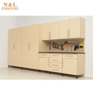 Cabinet Type and Wood Material Garage Tool Cabinet pictures & photos